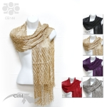 CB146 Metallic Shawl