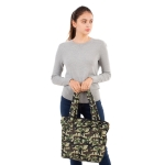 CB1804 Camouflage Pattern Padded Tote bag,