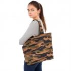 CB1834 Camouflage Pattern Corduroy Tote Bag