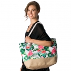 CB8223 Flamingo Beach Bag