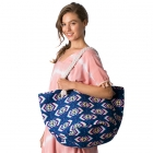 CB8224 Abstract Beach Bag