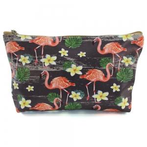 CB8237 Flamingo Beach Pouch Bag