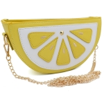 CB8240 Lemon Pouch Bag
