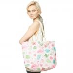 CB9641 Flamingo Beach Bag