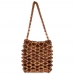 CB9683 Handmade Wooden Bead Bag With Lining