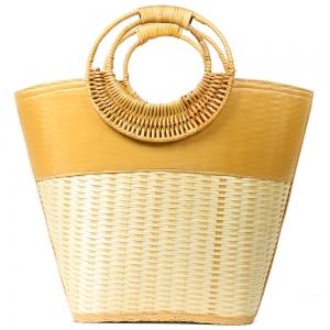 CB9689 Handmade Straw Beach Bag