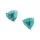 CE11-004 Triangle Stone Stud Earrings