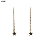 CE1364 Star Drop Linier Earring, G.HE
