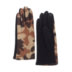 CG0356 Camouflage Pattern Touchscreen Gloves, Brown