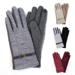 CG6401 Two Tone Glove with Buckle