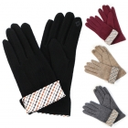 CG6404 Check Pattern Sleeve Glove (1dz)
