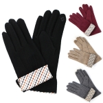 CG6404 Check Pattern Sleeve Glove