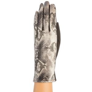 CG9001 Python Print Gloves, Black