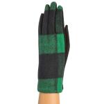 CG9002 Buffalo Plaid Print Gloves, Green