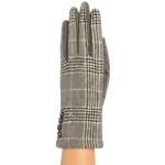CG9006 Plaid Pattern Gloves, Grey
