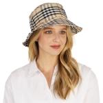CH1306 Simple Plaid Bucket Hat