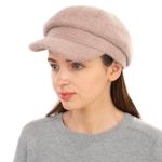 CH1939 Solid Cabby Fuzzy Hat, Khaki