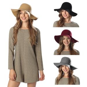 CH6304 Wool Floppy Winter Hat