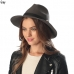 CH6305 WINTER FEDORA HAT WITH BUCKLE