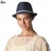 CH6316 Straw Fedora Summer Hat