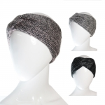 CH6407 Twisted Metalic Knitted Headband
