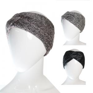 CH6407 Twisted Metalic Knitted Headband
