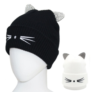 CH6412 Cat Hat with whiskers