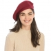 CH8202 Stretchy Knitted Beret, Wine