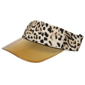 CH9403 Summer Visor Hat, Animal Print