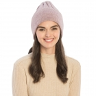CH9409 Solid Color Knit Beanie, Light Purple