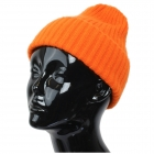 CH9413 Solid Color Knitted Beanie, Orange
