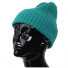 CH9413 Solid Color Knitted Beanie, Teal