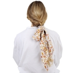 CHB1531 Changing Leaves Pattern Scrunchie & Scarf