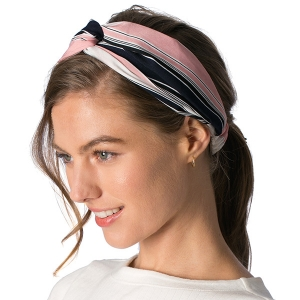 CHB802 Striped Head Band