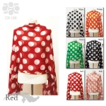 CK139 Big Polka Dot Scarf