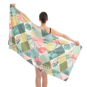 CM0002 Flamingo Pattern Beach Towel/Mat
