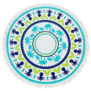 CM7005 Round Beach Towel Throw
