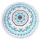 CM7009 Round Beach Towel Throw