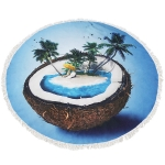 CM7030 ROUND BEACH TOWEL MAT