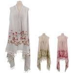 CMF2248 Floral Vest
