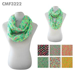 CMF3222 Dot Print Scarf