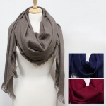 CMF5094 SOLID COLOR OVERSIZED SCARF