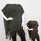 CMF5193 Poncho with Fringe