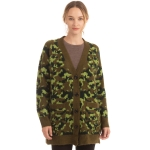 CP0548 Camouflage Pattern Soft Cardigan