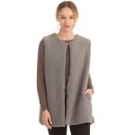 CP0556 Teddy Bear Feel Vest W/Hooks, Grey