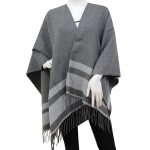 CP6238 2 Stripes Cape Poncho