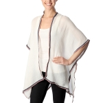 CP7409 Flag Edge Trimmed Photochromic Cape Poncho