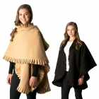 CP7506 Ruffled Edge Wrap/Cape/Poncho