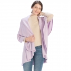 CP7530 Solid Basic Cape Shawl Vest, Lavender