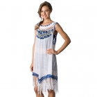 CP8551 Crochet One Piece Dress With Tassel
